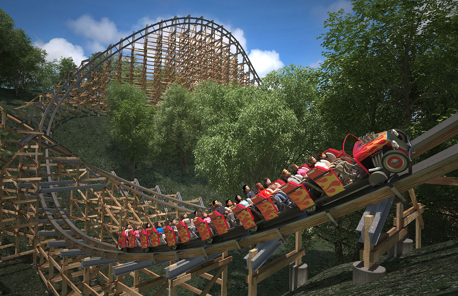 Lightning Rod Announced For Dollywood First Launching